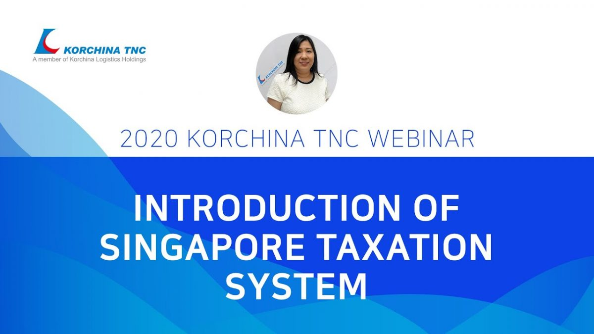 Singapore taxation system