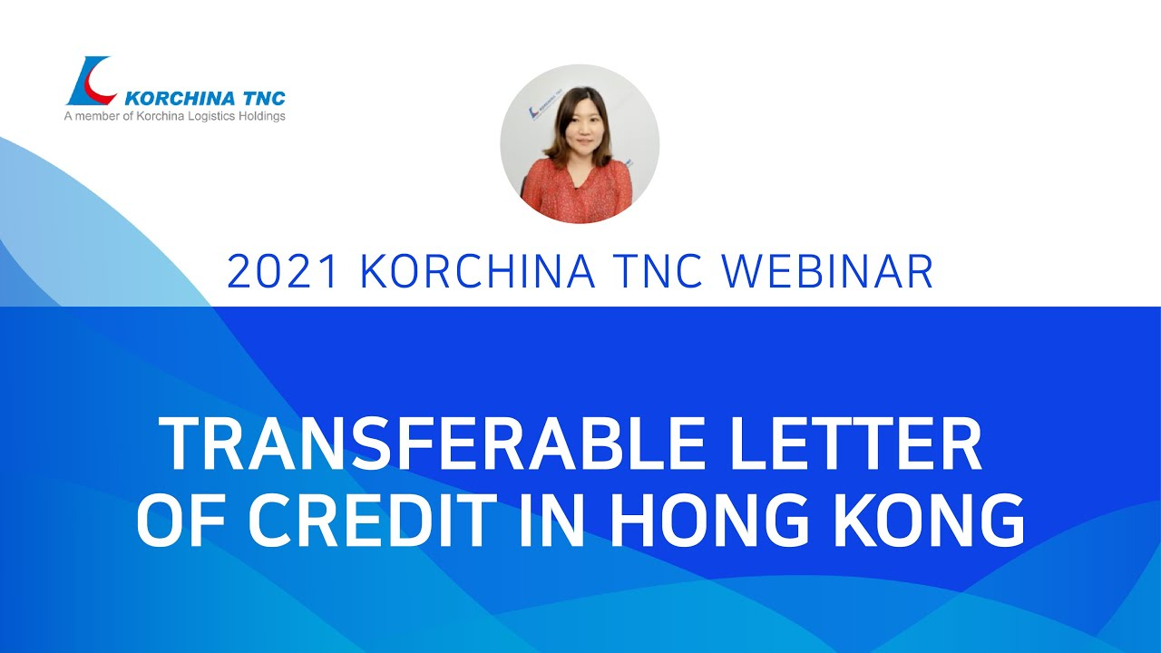 Transferable Letter of credit in Hong Kong