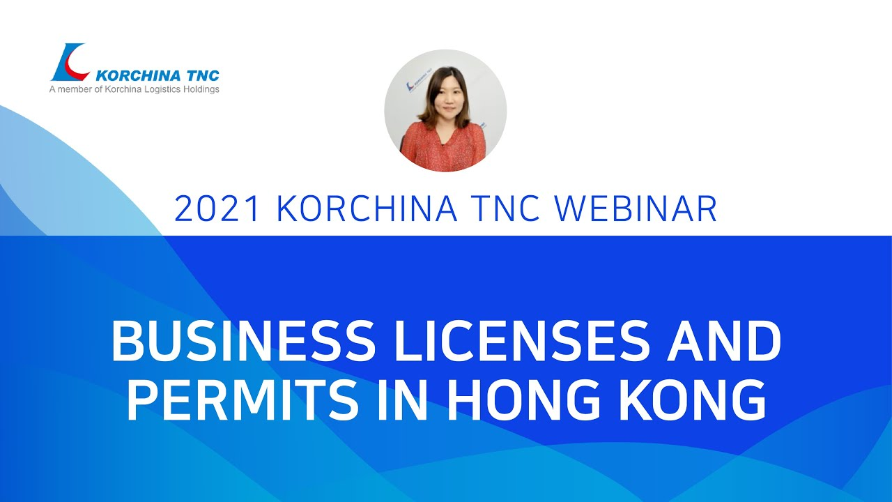 Business licenses and permits in Hong Kong